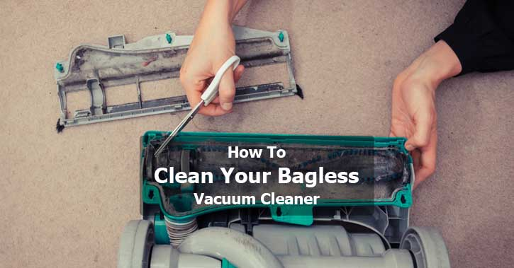How To Clean Your Bagless Canister Vacuum Cleaner