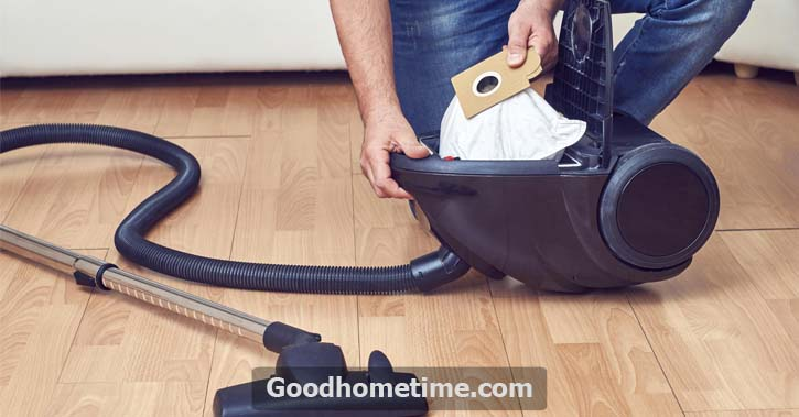 To get the maximum cleaning capacity, you'dhave to clean the canister vacuum hose all around
