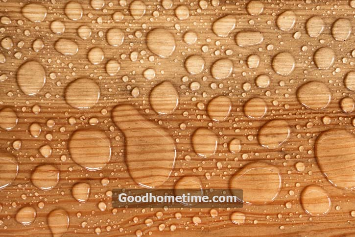 Oil and soap-based cleaners are not meant for laminate floors and may contribute to the stains on the flooring