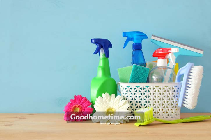 mix a 50-50 white distilled vinegar with water mixed inside a spray bottle