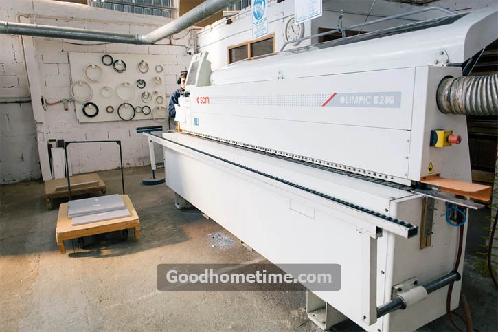 The most convenient tool to use when holding a veneer with any substrate together is a vacuum press. It puts to use a specific amount of equally distributed pressure throughout the whole surface