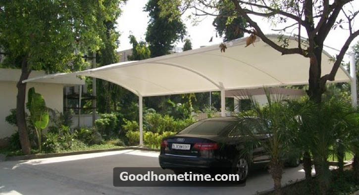 Standard curved tensile structure