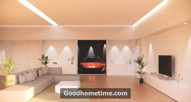 Low ceiling rooms, in contrast, are generally easier to heat and light and can create a cozier feel.
